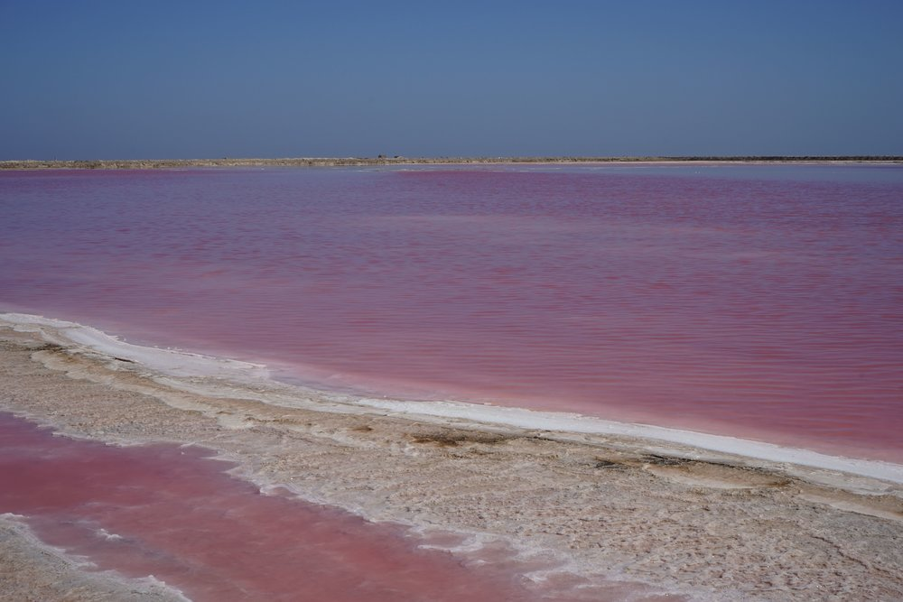 Salt pans - Walvis Bay