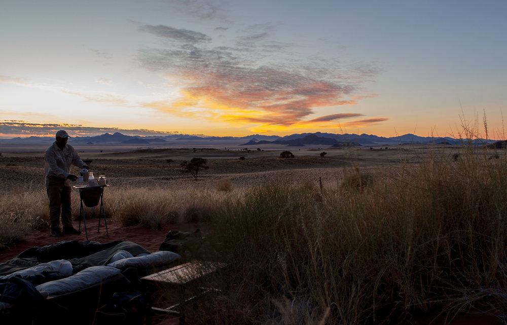 yoga hiking namibia tok tokkie trail