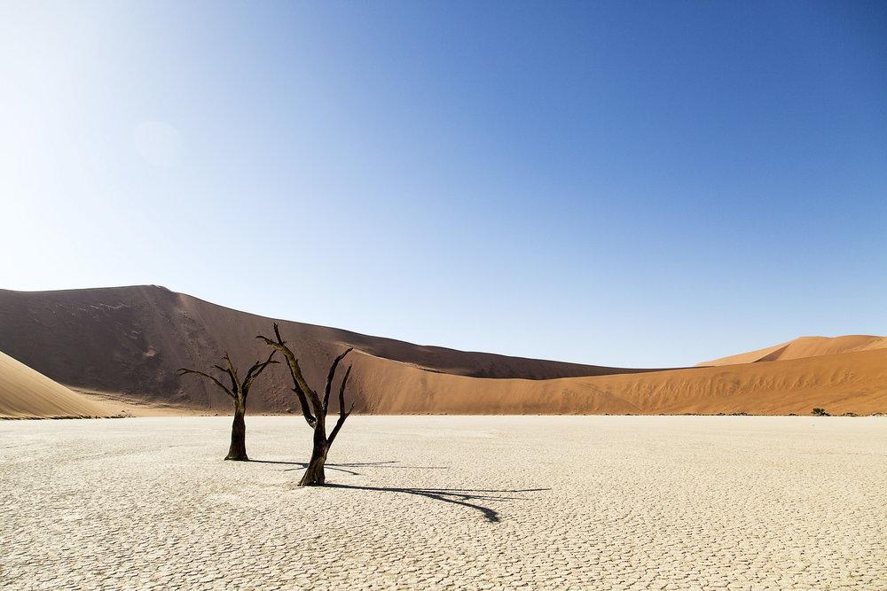SOSSUSVLEI -  The World's Oldest Desert