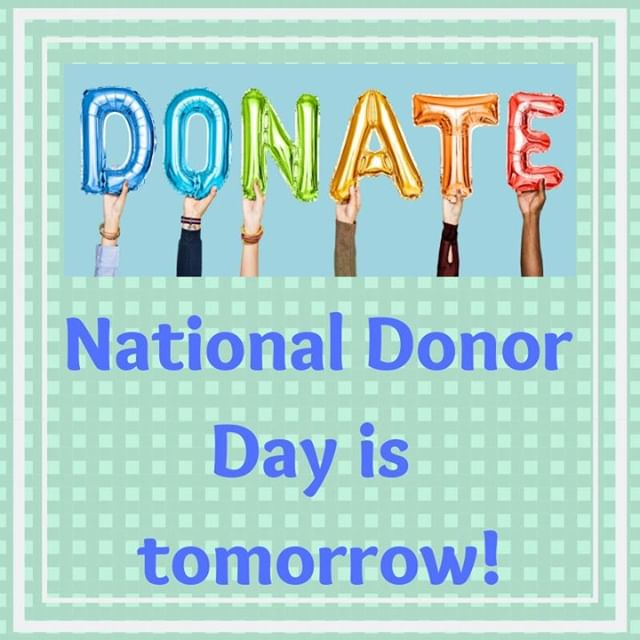 February 14th is National Donor Day! Click the link in our bio to donate.