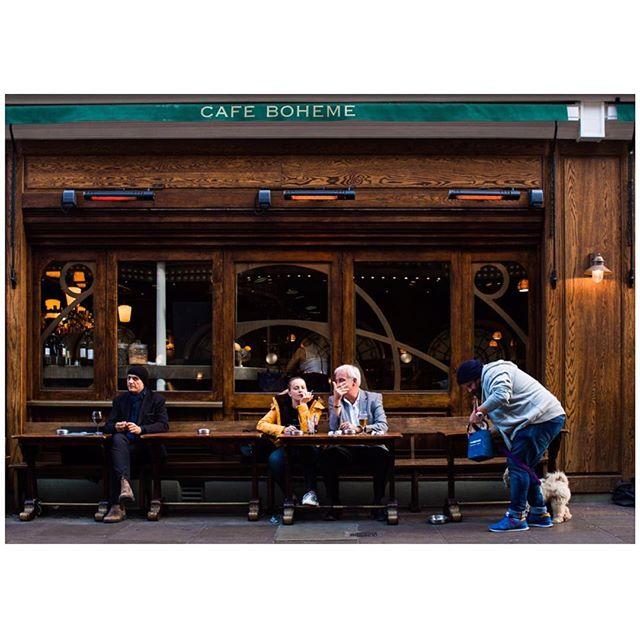Cafe Boheme, Old Compton Street