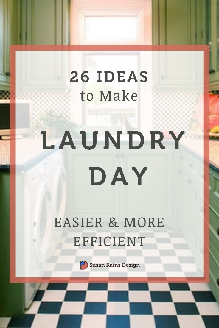 Ideas to Make Laundry Day Easier and More Efficient