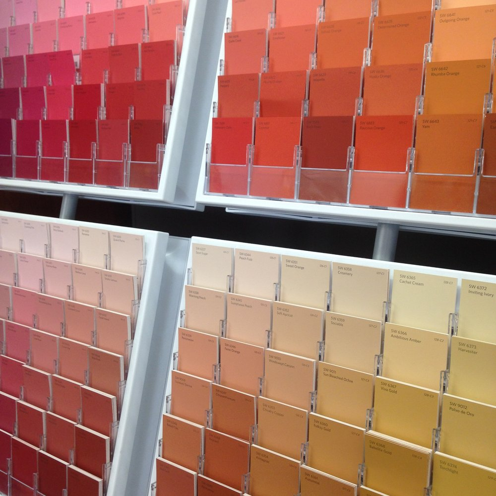 Medium Paint Color Consultation - The Medium Paint Consultation is for choosing up to 9 paint colors for two or three rooms.