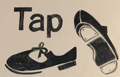 Tap Shoes Art