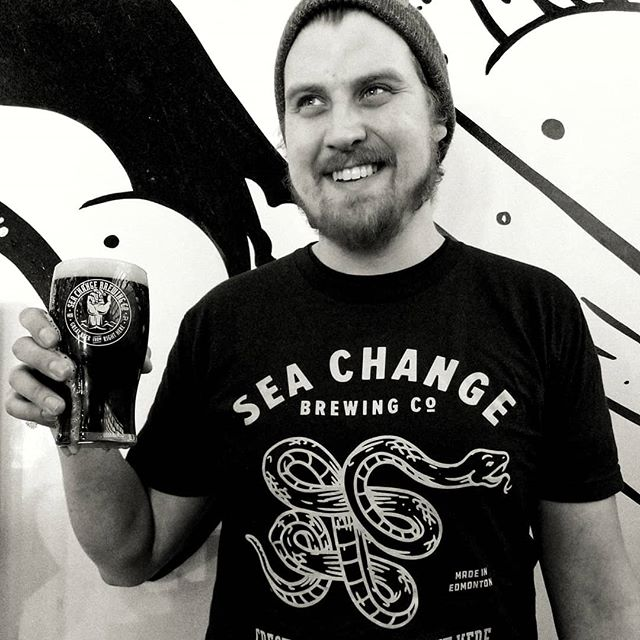 Happy start of the St Paddy's Day weekend...on actual St Paddy's Day, March 17, we'll be open 12 till late with cheap pints of our Irish Red Ale, and Imperial Stout Irish Car Bombs...and you'll be able to snag these limited Irish Red Ale t shirts 🐍 . . #GREATBEERFROMRIGHTHERE #seachangebrewingco #seachangebeer #stpatricksday #irishredale #yegcraftbeer #yegbeer