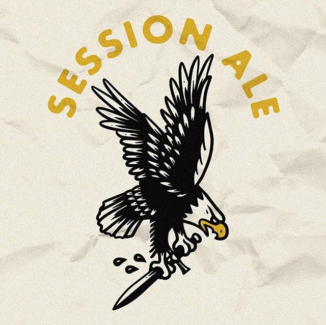THE EAGLE HAS LANDED...Again. The Session Ale is officially back on tap this Saturday. 🦅🍻 . . #GREATBEERFROMRIGHTHERE #seachangebeer #seachangebrewingco #yegbeer #yegcraftbeer #crushbeersnotdreams #cawcawmotherfucker