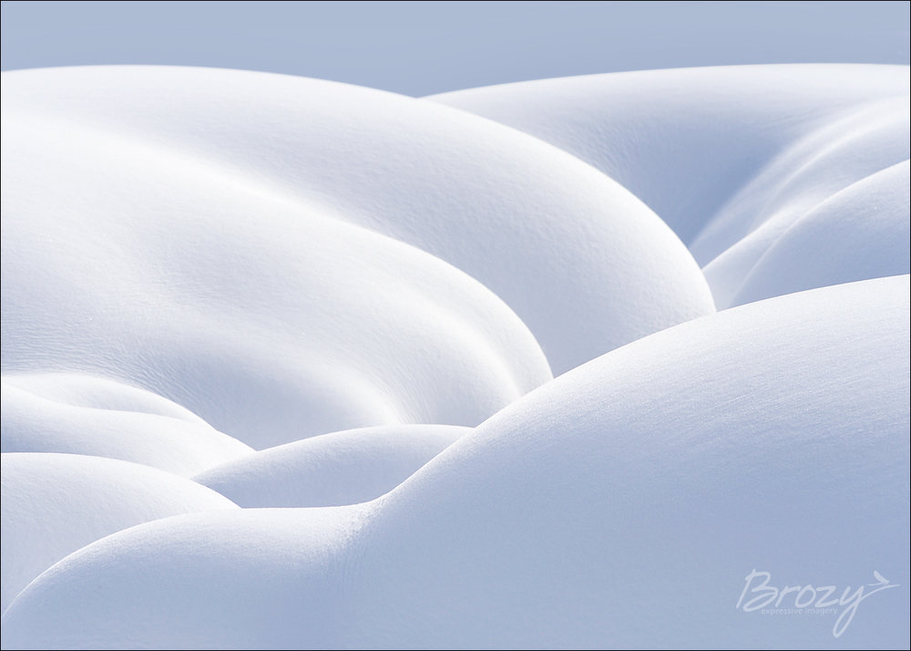 the sensuous snow