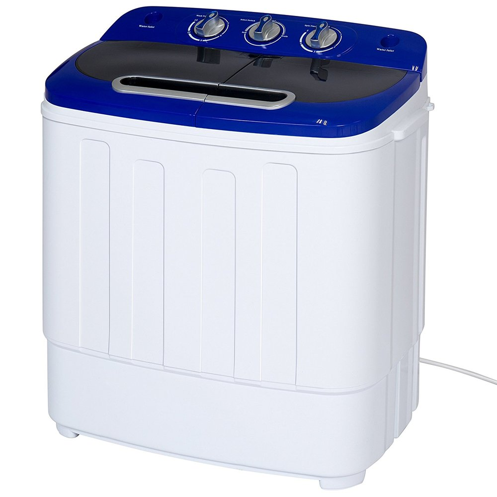 Portable Compact Mini Twin Tub Washing Machine
