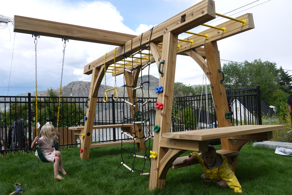 OUTDOOR PLAY STRUCTURES -