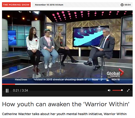 http://globalnews.ca/video/3059214/how-youth-can-awaken-the-warrior-within