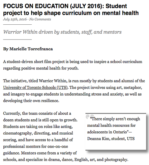 http://gleanernews.ca/index.php/2016/07/25/focus-on-education-july-2016-student-project-to-help-shape-curriculum-on-mental-health/#.V9ub35MrL_8