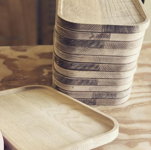 Beautiful solid white oak cheese boards, precision cut by @cnccpt