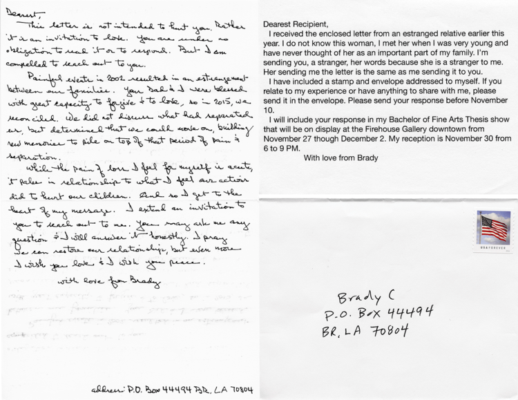 Letters From Strangers Brady Connelly