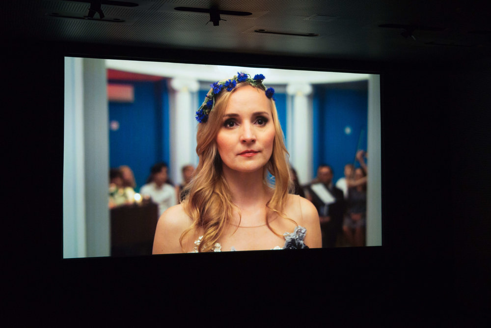 """Inspired by real-life events, """"Wildflower"""" is a short film about an immigrant struggling to make a heartbreaking choice while pursuing her dream of making it as a professional singer in New York."""