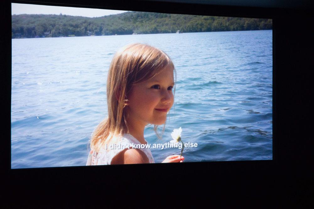 Ella Barborak making her debut as an actress.