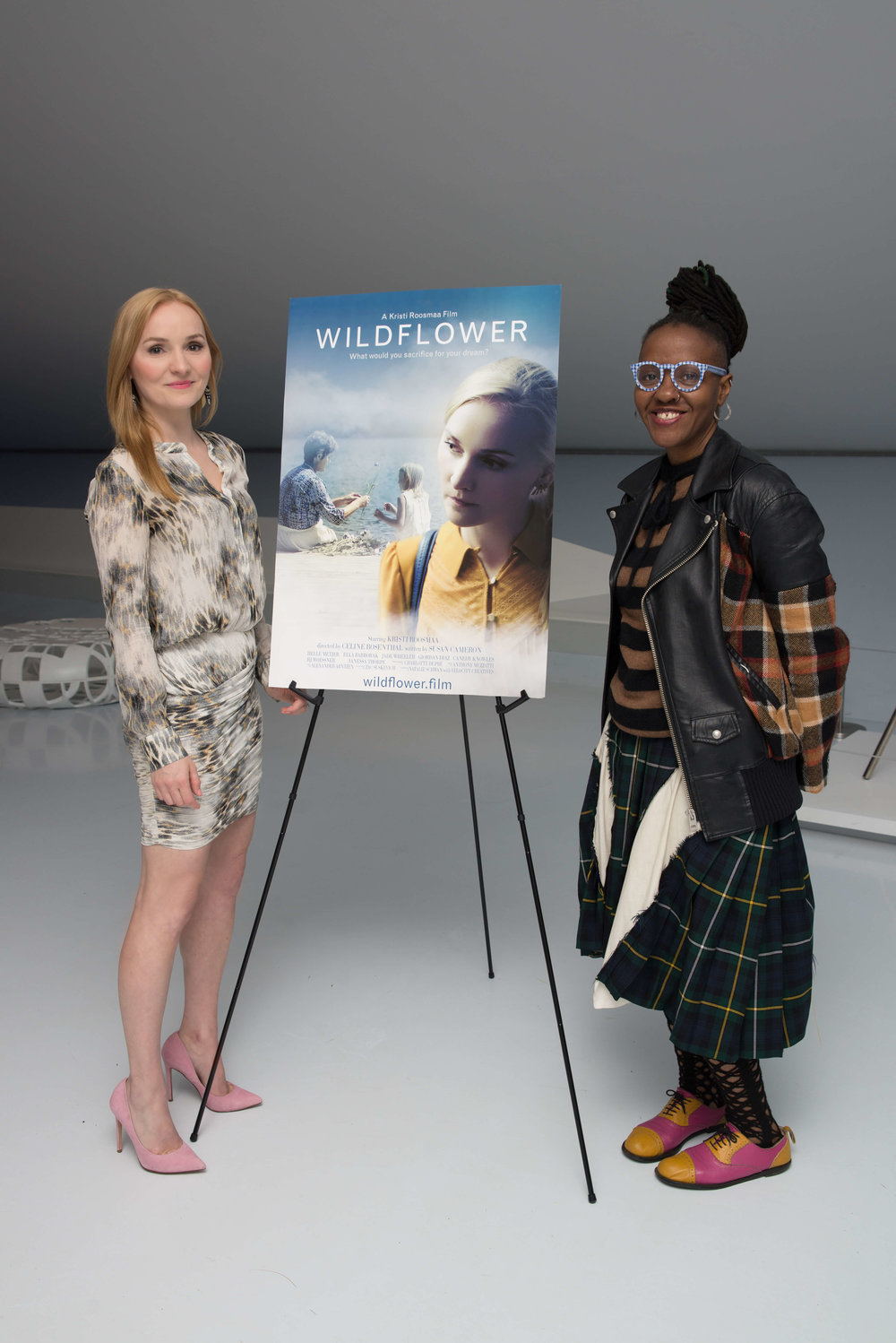 Thank you New York Women in Film & Television's Easmanie Michel for organizing such a memorable night!
