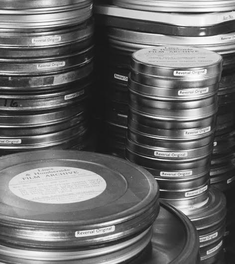 Lincolnshire Film Archive Film cans.jpg