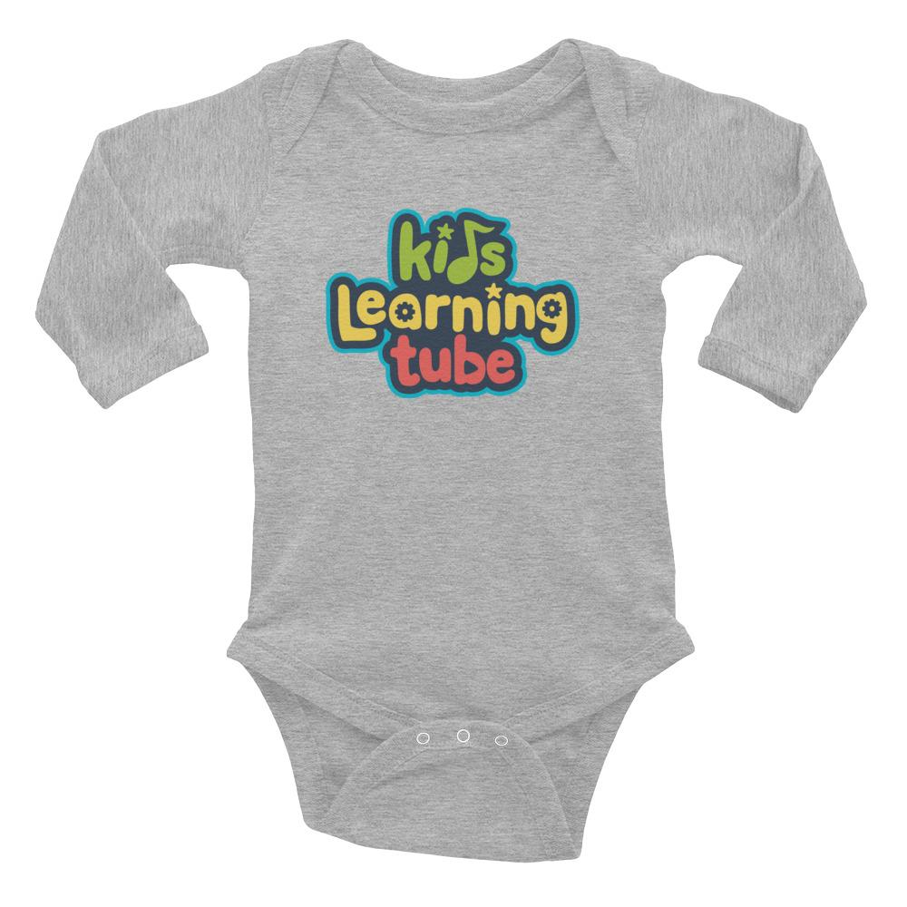 Kids Learning Tube Logo Infant Long Sleeve Body Suit  $20.00