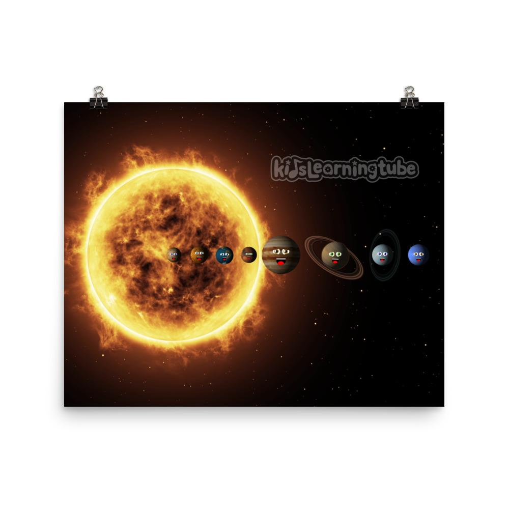 NEW!  Solar System Poster  Starting at $10.00 (Available in 6 sizes)
