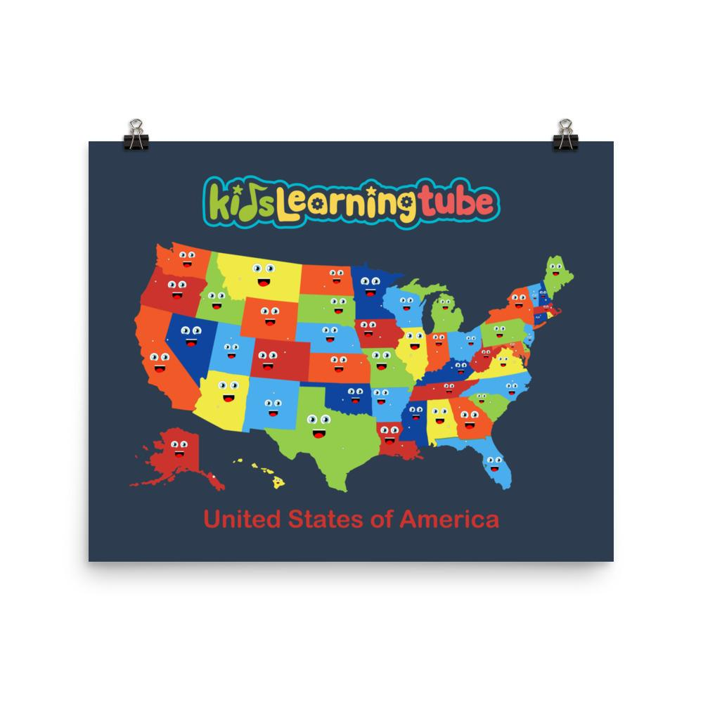 NEW!  United States of America Poster  Starting at $10.00 (Available in 6 sizes)