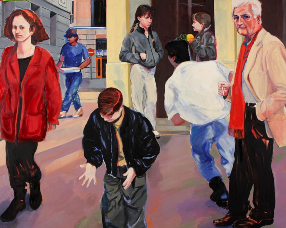 """Passage, 2000, oil paint on linen, 44"""" x 56"""""""