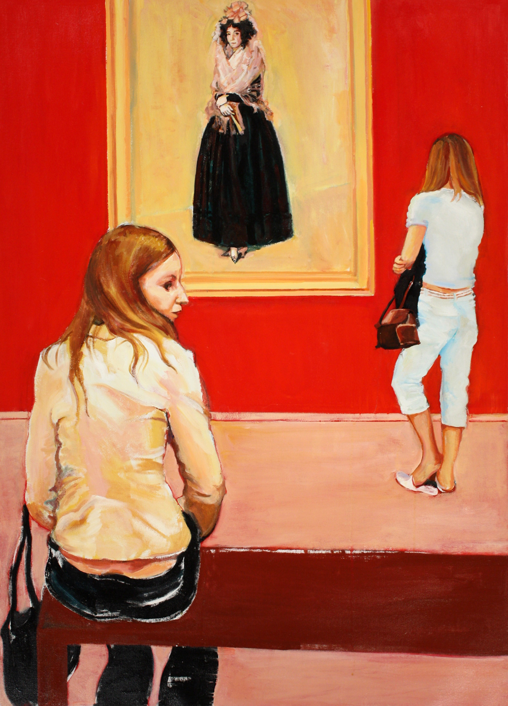 "21st Century Goya,  2011, oil on canvas, 43"" x 31"""