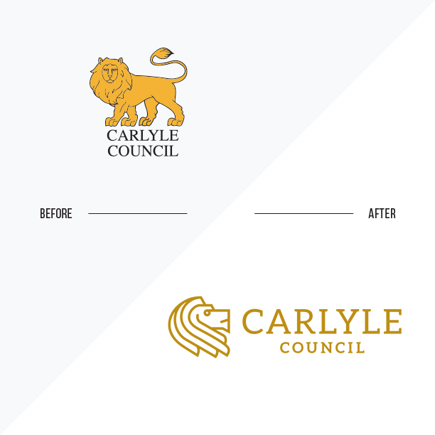 Carlyle Council rebranding