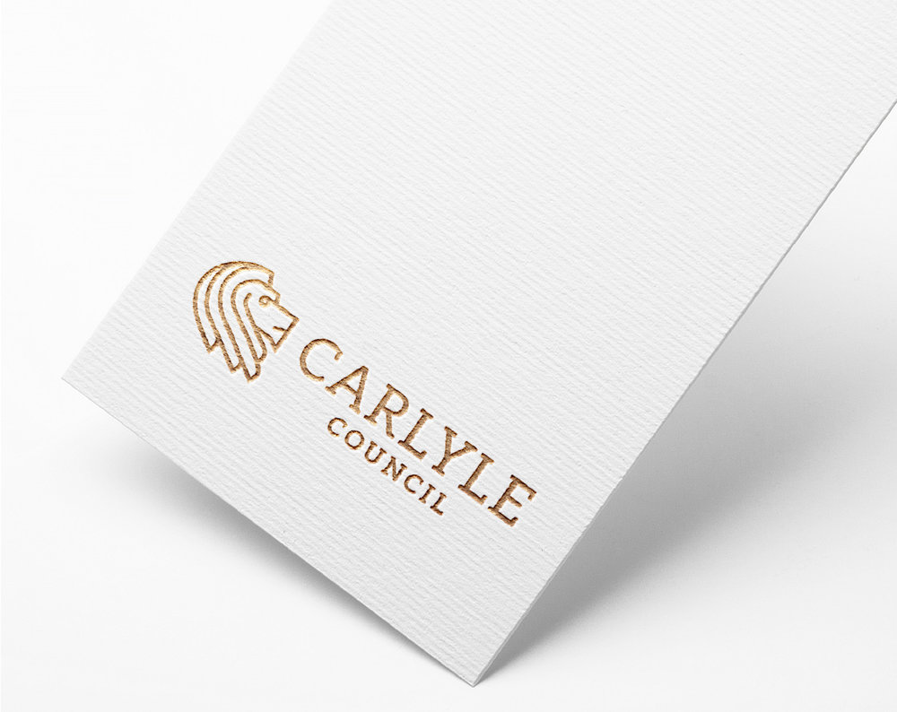 Carlyle Council new logo design