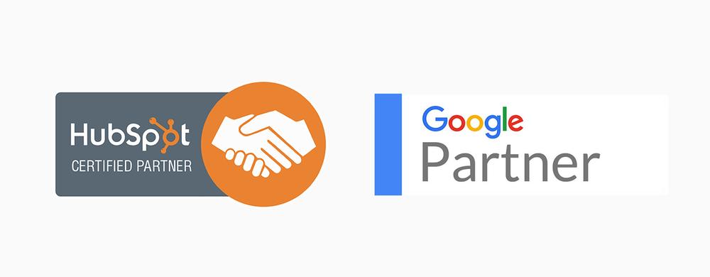 Hubspot Partner and Google Partner