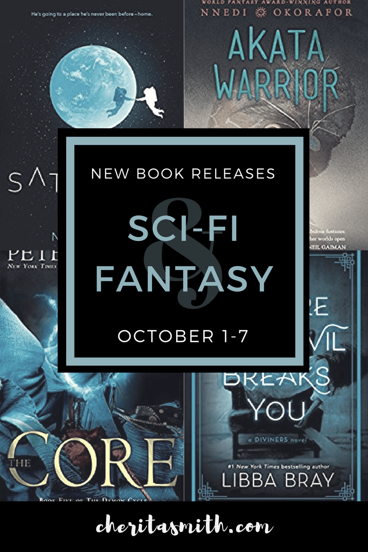 New Sci-Fi and Fantasy Books October 3