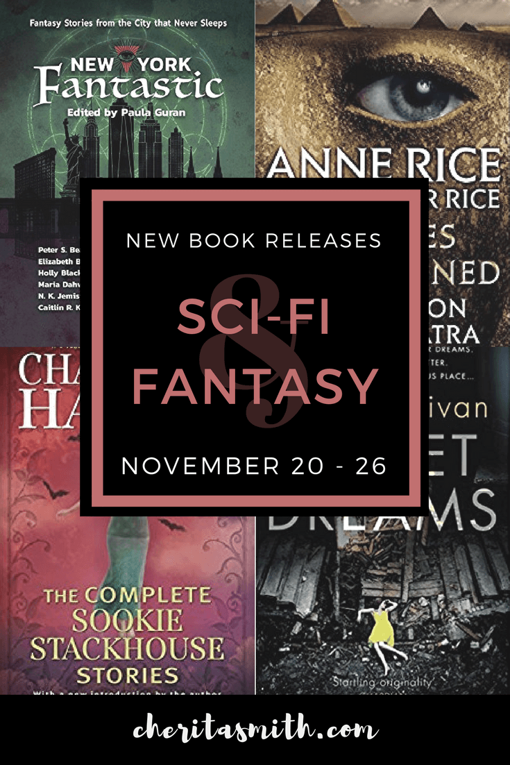 New Sci-Fi and Fantasy Books - November 21