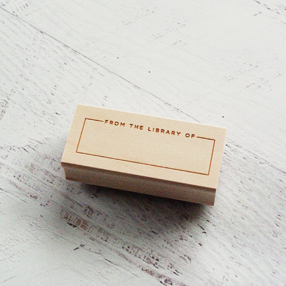 Personal Library Stamp | $13.50