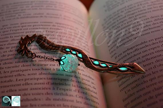 Dragon Bookmark | $36