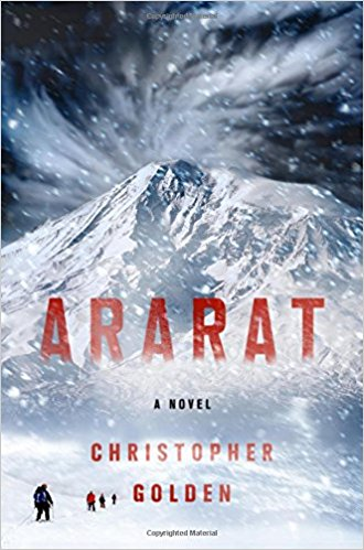 Superior Achievement in a Novel:   Ararat  , Christopher Golden (St. Martin's)