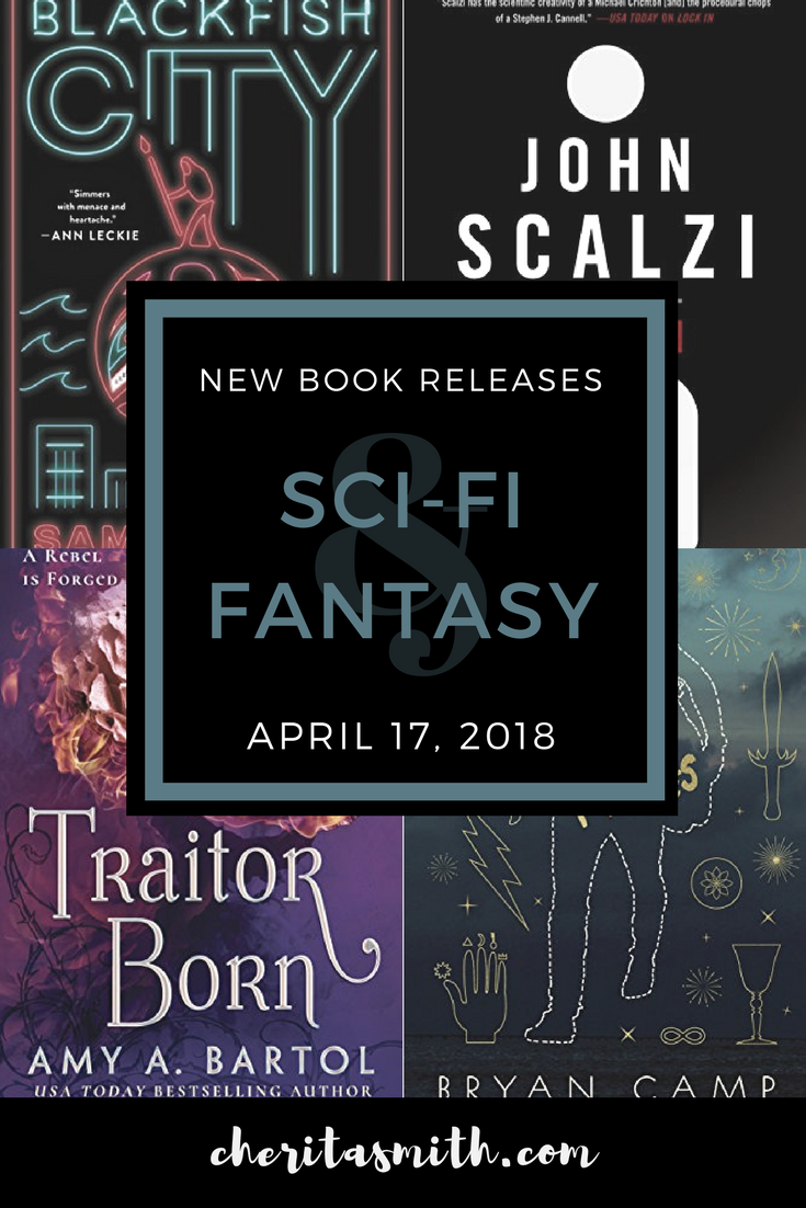 Best New Sci-Fi and Fantasy Books - April 17