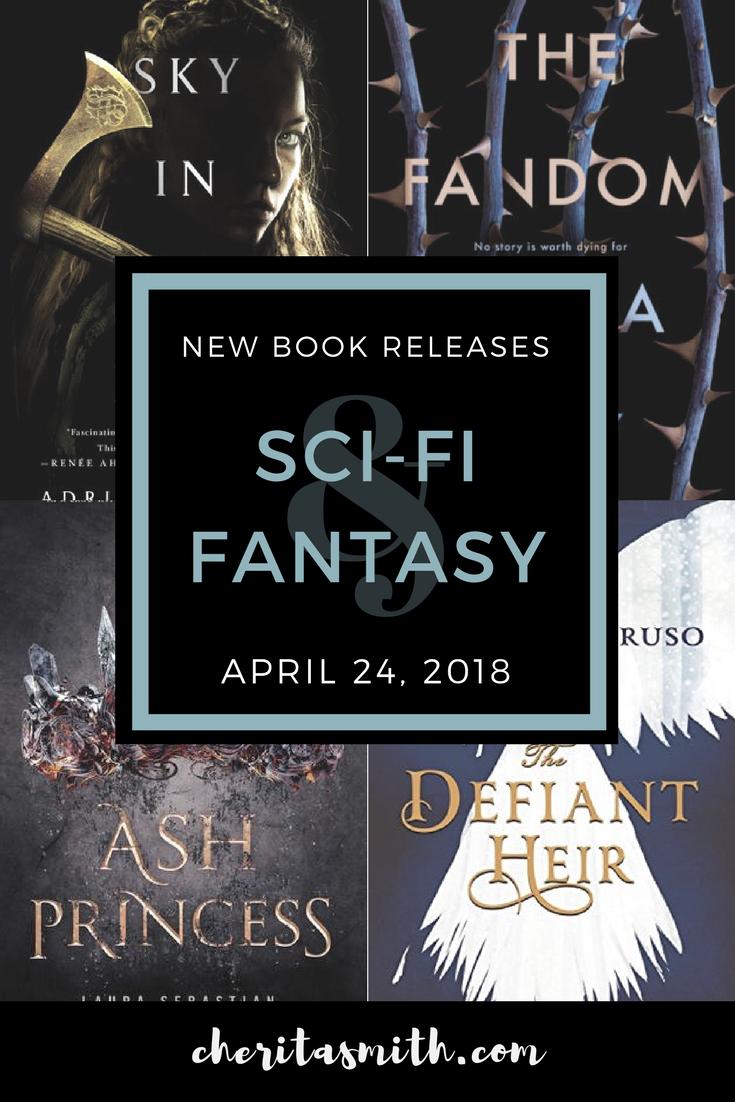 Best New Sci-Fi & Fantasy  Books - April 24