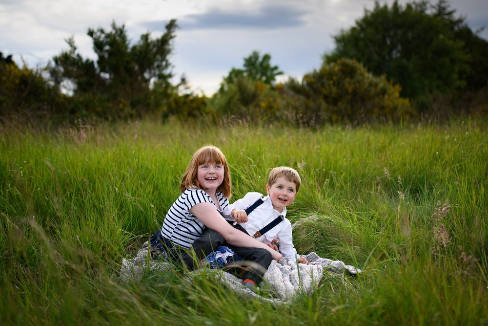 easter spring family photo shoot 2019 Carnoustie dundee