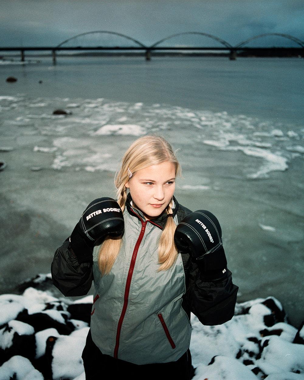 Rebecka, 14 år, Luleå