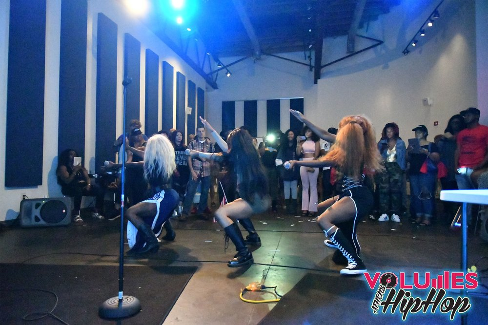 B.O.Y. performing at ATHfactor-Liberty's Women of Hip Hop showcase during Athfest 2017