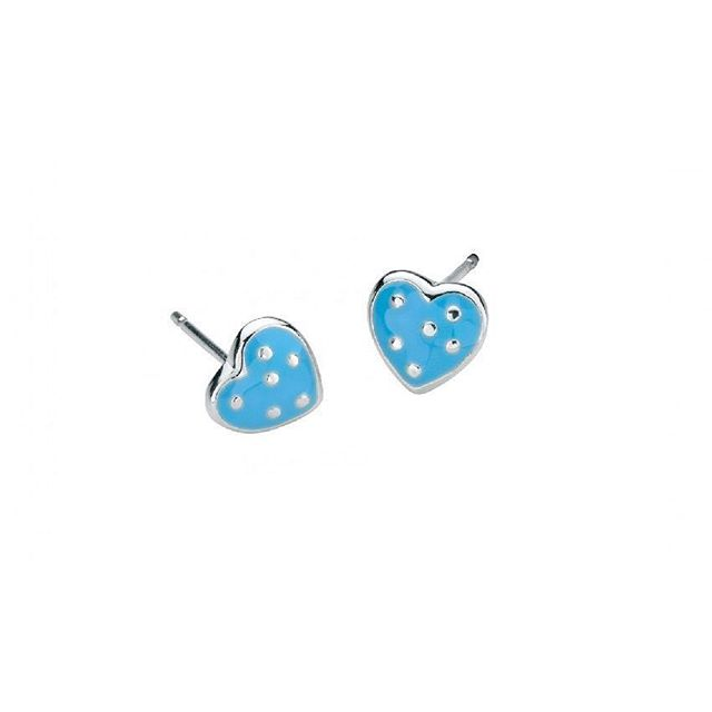 These girls polka dot blue heart studs are the perfect gift for your little one. Click the link in our bio to shop our online store. #kidsjewelry #gifts #earrings #girlsjewelry #longisland #eastnorthport #childrensjewelry #squiresjewelers #eastnorthport #jewelryforsale #jewelryshop