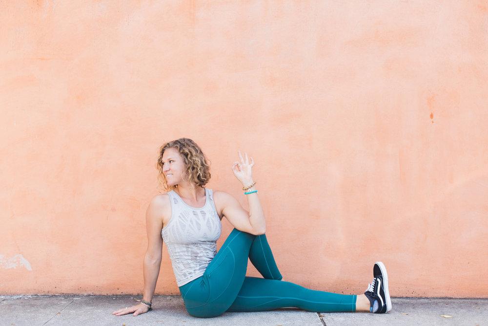 Christine Lentz Yoga | photography by Kailee DiMeglio Shields