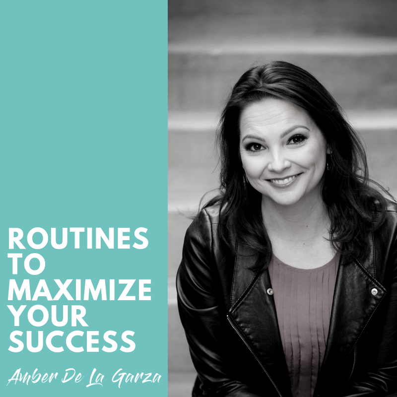 Bookending Your Day - Routines to Maximize Your Success