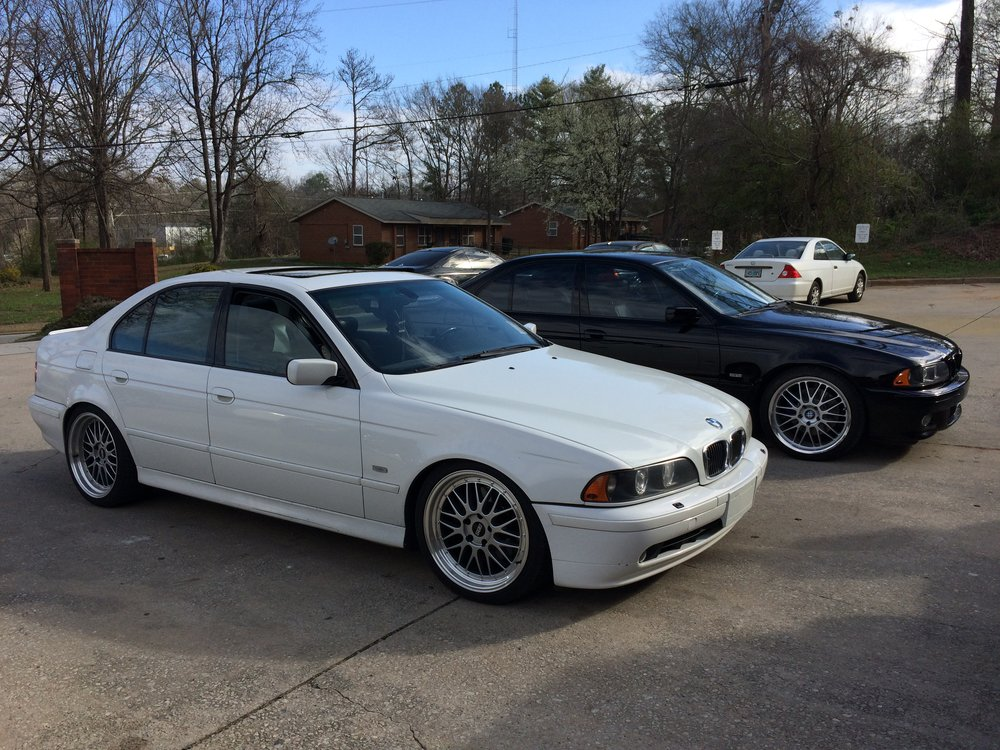 BMW 5 Series E39 2001 540i V8 Manual