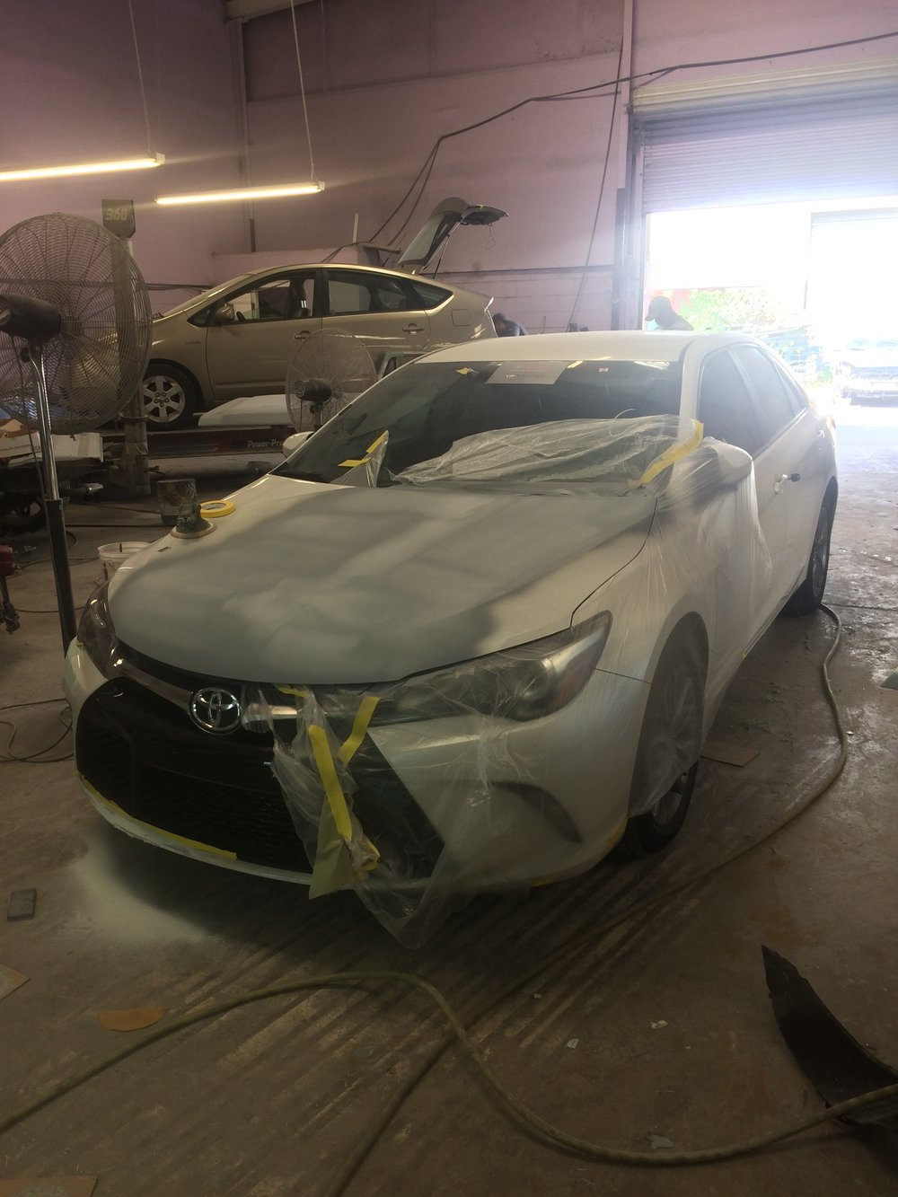 Lawrenceville Toyota Camry Crash