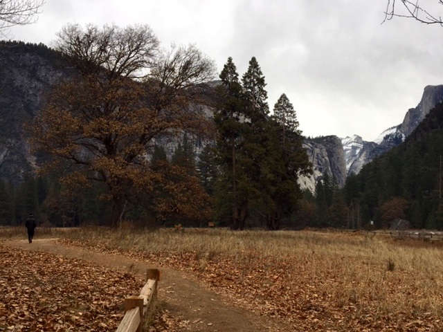 Saturday morning in Yosemite during the government shut down.