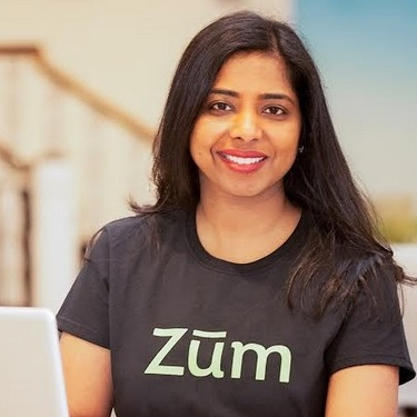 Ritu Narayan  is Founder and CEO of Zūm, the leader in safe and reliable ride and care for children. Ritu founded Zum out of her firsthand experience of raising two active kids and managing a fast-paced tech career in Silicon Valley.  Through Zūm, Ritu has created an online marketplace that will have the scale of eBay and the trust of LinkedIn by providing high-quality services and products for families with kids. Ritu has over 15 years experience in leading tech companies such as eBay, Yahoo!, Oracle, and IBM, where she built products used by millions and helped generate multi-million dollar revenue.  Ritu is an alum of Stanford Graduate School of business and has earned an undergraduate degree in computer science at the Delhi Institute of Technology.