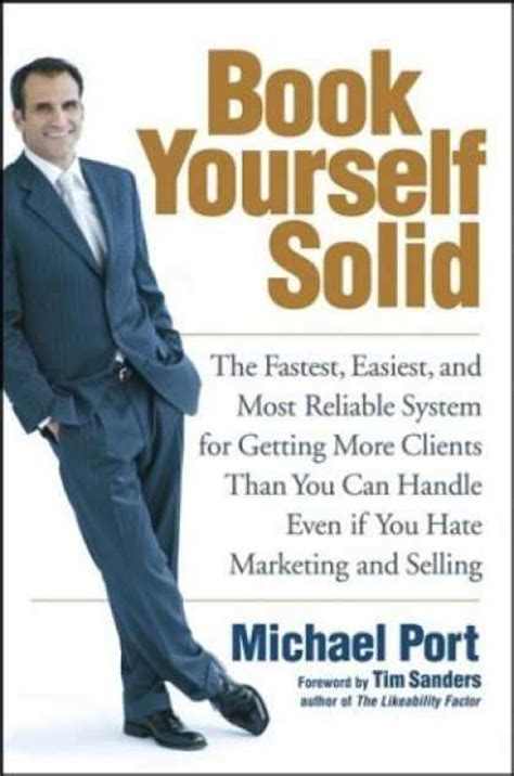 Book Yourself Solid - In this book, Michael Port explains how to keep your online business booming and clients coming back for more. You will master a proven strategy for purposeful growth that will maximize the potential of your business through step-by-step techniques for developing your personal brand by controlling the narrative, keeping a selective client list, and earning trust. This is a great book to learn how to generate the traffic and expand your revenue.