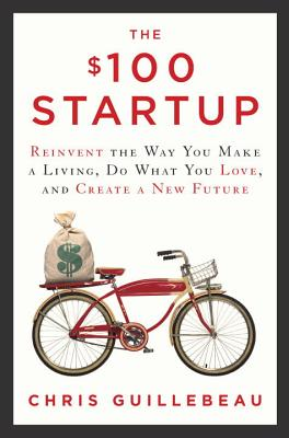 The $100 Startup - In The $100 Startup, Chris Guillebeau shows you how to lead a life of adventure, meaning and purpose – and earn a good living while you're at it. In preparation for writing this book, Chris identified 1,500 individuals who have built businesses earning $50,000 or more from a modest investment (in many cases, $100 or less), and from that group he chose 50 of the most intriguing cases to be living testimonies of this phenomenon. This book takes an in-depth look at exactly how many dollars his group of unexpected entrepreneurs needed to get their projects up and running, what these individuals did in the first weeks and months to generate significant cash, some of the key mistakes they made along the way, and the crucial insights that made their businesses stick.