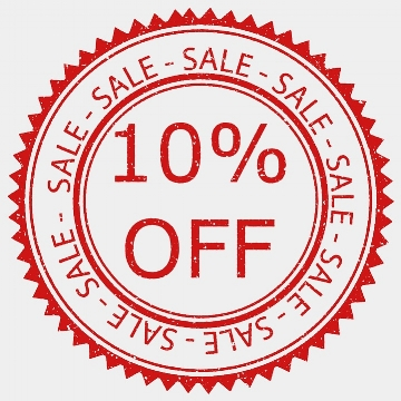 Fall Sale - 10% off plus free domestic shipping