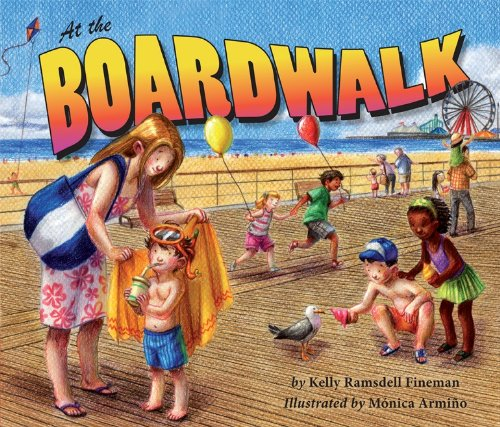 Signed paperback copies of AT THE BOARDWALK $8 each, plus shipping and handling